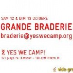 Grande braderie : yes we camp ! Photo 1