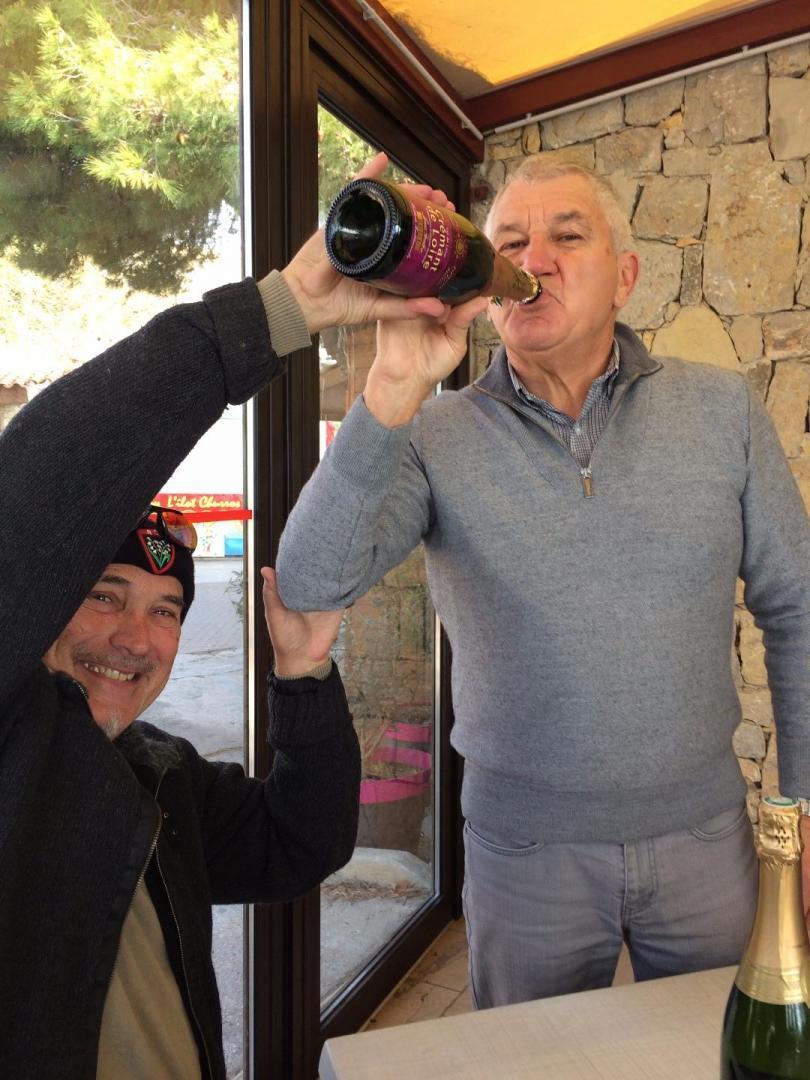 photos de boire un verre